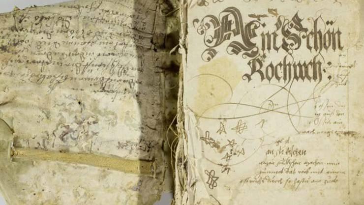515 historische Rezepte zum Nachkochen: Das älteste bekannte Kochbuch der Deutschschweiz ist in einem zeitgenössischen Deutsch publiziert worden.