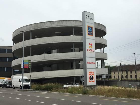 Aarau, Gais Center: erste Stunde gratis. Damit sollen Kunden angelockt werden.