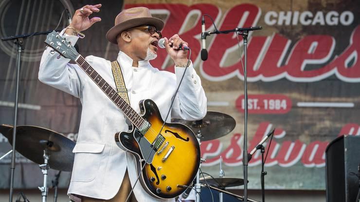 Toronzo Cannon (50) gehört zu den Aufsteigern des Blues.