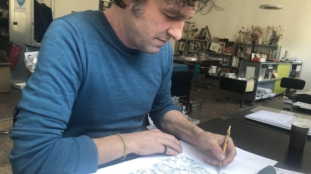 Der Illustrator: Julien Gründisch