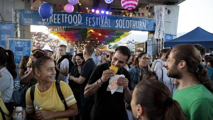 5. Street-Food-Festival unter der Westumfahrungsbrücke Solothurn
