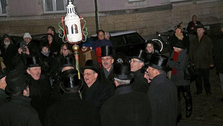 Die Sebastiani-Bruderschaft pflegt in Rheinfelden einen Brauch aus dem Mittelalter.