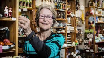 Vor 30 Jahren hat Irene Schmid das Chrämerlädeli übernommen, ohne recht zu wollen. Heute will sie es nicht mehr hergeben.
