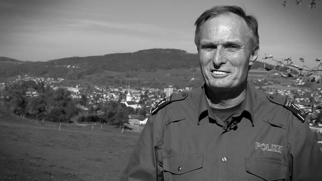 Dieter Holliger, Polizeichef, Oberkulm: «Was ich erlebe, beschäftigt mich manchmal schon»