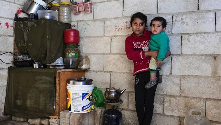 Nach acht Jahren Krieg sei humanitäre Hilfe in und um Syrien weiterhin überlebenswichtig, sagt die Caritas Schweiz. (Symbolbild)