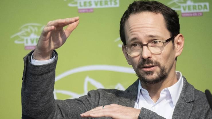 «Wenn wir Grünen Netto Null sagen, meinen wir dreimal so viel CO2 wie der Klimastreik»: Grünen-Präsident Balthasar Glättli.