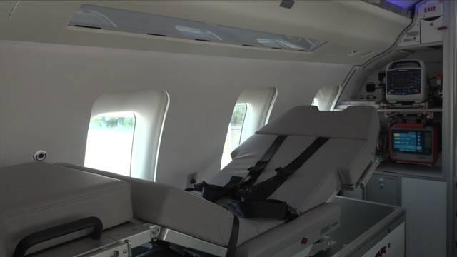 Die Rega hat ein neues Ambulanz-Flugzeug