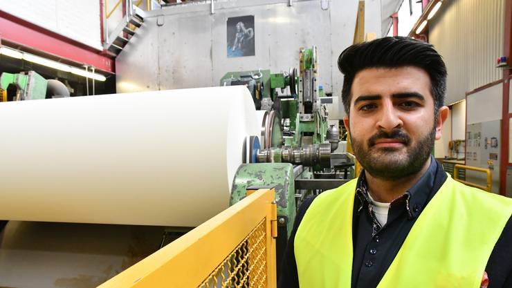 Abhimanyu Soin, CEO der Swiss Qualitiy Paper AG, blickt zuversichtlich in die Zukunft.