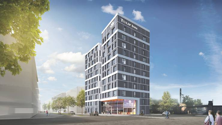 In Saint-Louis geplantes Hotel mit 115 Zimmern