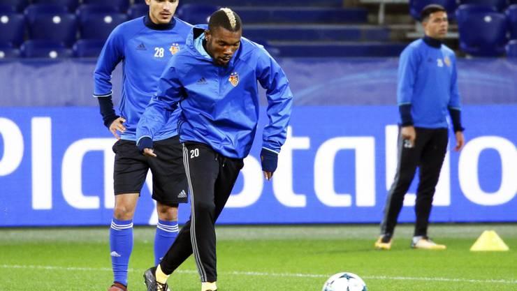 Scheiterte am Afrika-Cup mit dem entscheidenden Penalty am Pfosten: Basels ivorischer Mittelfeldspieler Geoffroy Serey Die