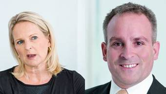 CVP-Politiker Nicole Barandun (links) und Markus Hungerbühler (rechts) wollen beide in den Zürcher Stadtrat.