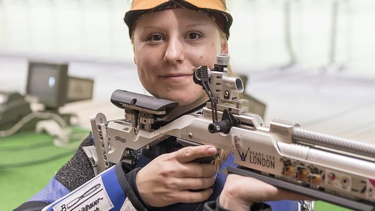 Nina Christen glänzt an den Europa-Spielen mit dem Luftgewehr