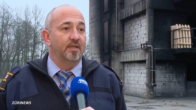 «Sicher auch ein bisschen stolz»: der Feuerwehr-Stabchef im Beitrag von Tele Züri.