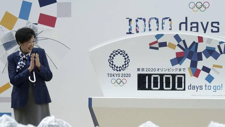 Die japanische Politikerin Yuriko Koike wird sich freuen: Die Sommerspiele in ihrer Heimat stehen ganz im Zeichen der Frauen.