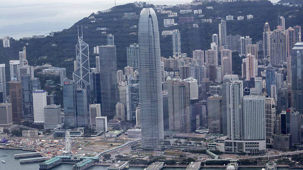 Schweizer Firmen haben 2014 vor allem in Asien investiert (Archivbild Finanzzentrum Hongkong).