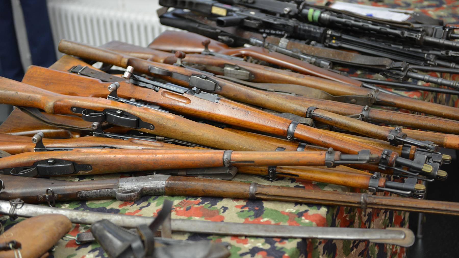 Abstimmung über die Umsetzung der EU-Waffenrichtlinie