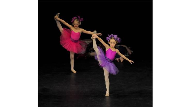 Körperspannung ist das A und O; und dies nicht nur im Ballett.