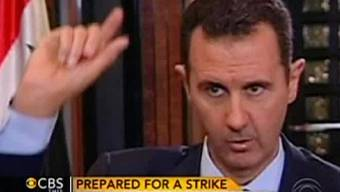 Syriens Machthaber Assad im CBS-Interview.CBS This Morning