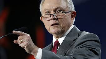 US-Justizminister Jeff Sessions. (Archivbild)