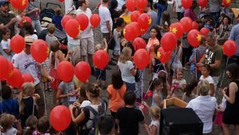 Der traditionelle Ballonflugwettbewerb 2017: Wer letztes Jahr gewonnen hat, wird erst diesen Samstag bekannt gegeben.