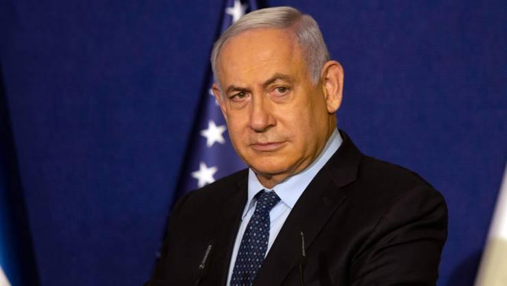 Benjamin Netanjahu, Ministerpräsident von Israel. Foto: Maya Alleruzzo/Pool AP/dpa