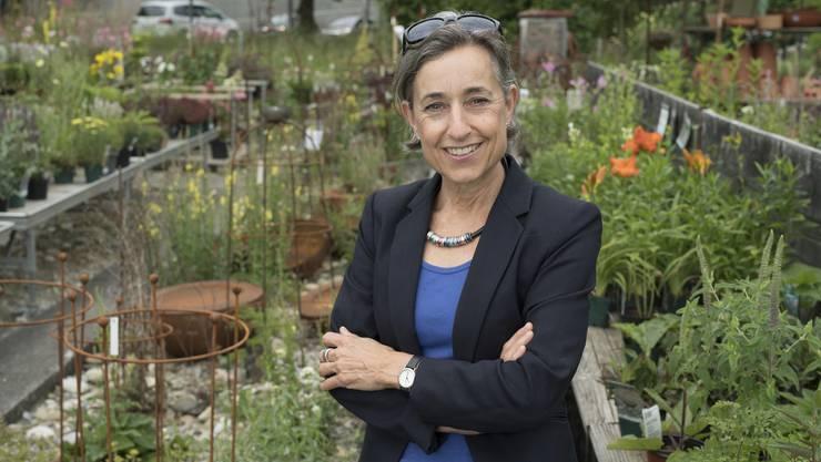 Angelica Cavegn Leitner kandidiert für Pro Aarau als Stadtpräsidentin.