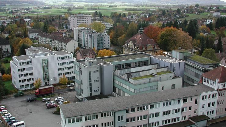 """Industrie, Büros, Wohnen: das """"Business-Modell"""" im Stadtzentrum Grenchen"""
