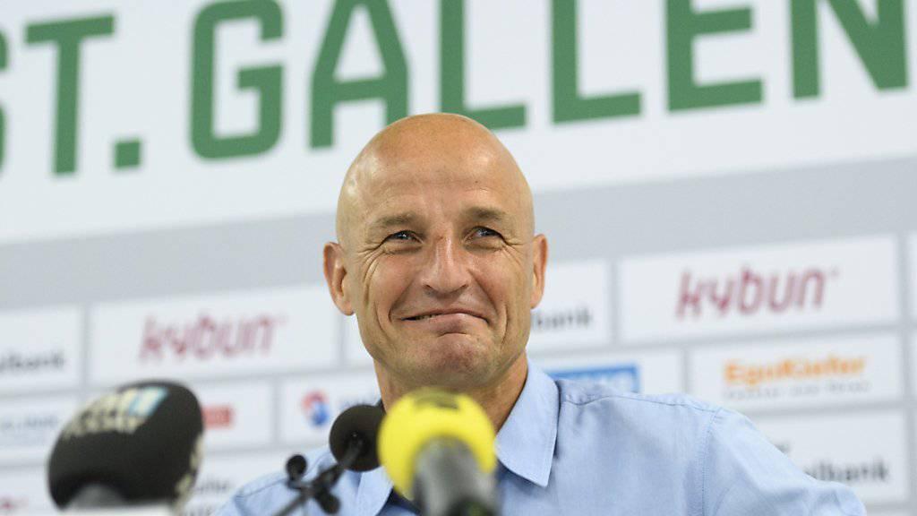 Peter Zeidler kehrt mit einem Lachen zum Schweizer Fussball zurück