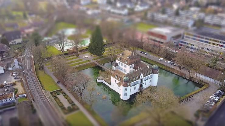 Der Wahlkreis Binningen umfasst auch die Gemeinde Bottmingen mit ihrem Schloss.