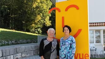 Marie Theres Rey (links) gibt auf den ersten November die Heimleitung an Gordona Schmid ab.