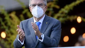 Thomas Bach ist überzeugt von der Durchführung der Olympischen Spiele 2021 in Tokio