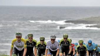 Der Vuelta-Tross im Norden Spaniens