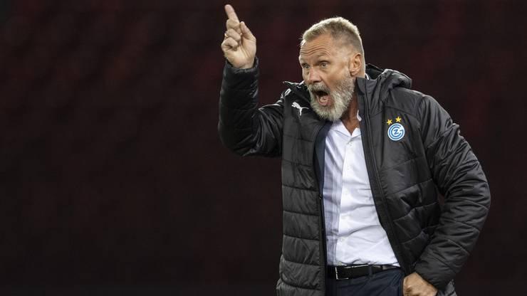 Der GC-Trainer und seine Mannschaft fühlen sich bereit für das anstehende Derby gegen den FC Zürich.