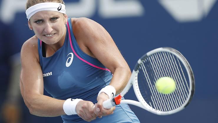 Timea Bacsinszky wartet 2018 auf WTA-Stufe weiter auf ihren ersten Einzelsieg