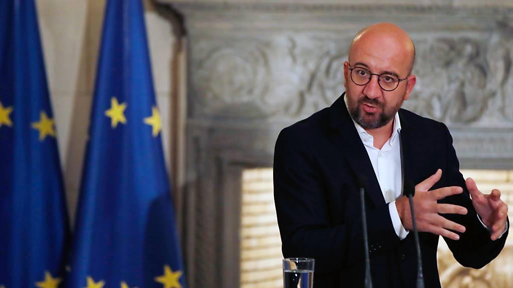 EU-Ratschef Charles Michel will strategische Debatte zu Russland
