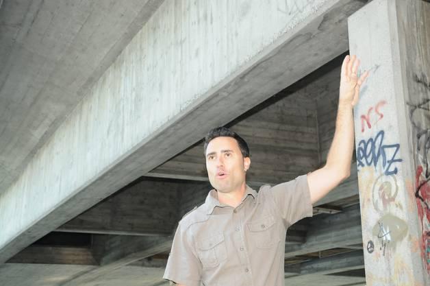 Projektleiter Roberto Scappaticci vom Departement Bau, Verkehr und Umwelt