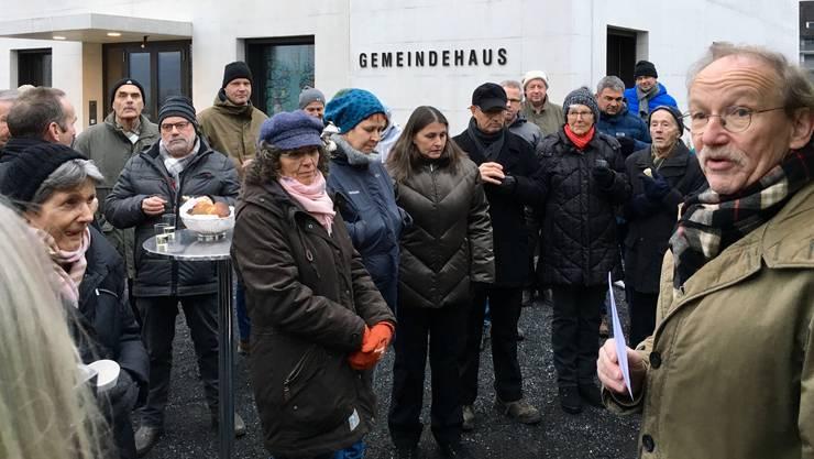 Fischbach-Göslikon Neujahres-Apéro (01.01.2020)