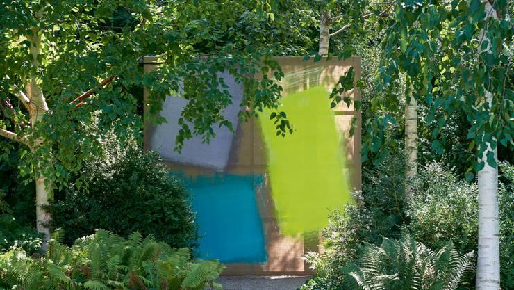 So präsentiert sich das Werk von Renée Levi im Badener Langmatt-Park.