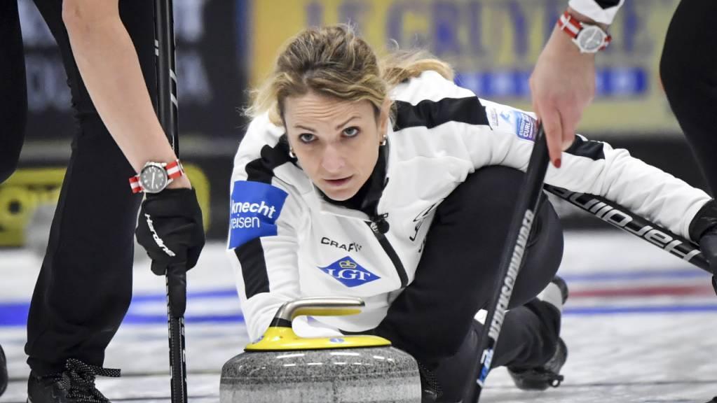 Silvana Tirinzoni startet wunschgemäss ins WM-Turnier.