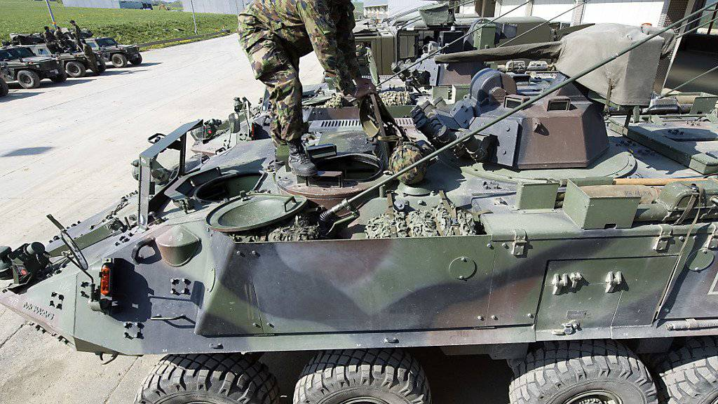 Schweizer Rüstungsfirmen dürfen Kriegsmaterial künftig unter gewissen Bedingungen auch in Länder exportieren, in denen ein interner bewaffneter Konflikt herrscht. Das hat der Bundesrat beschlossen. (Themenbild)