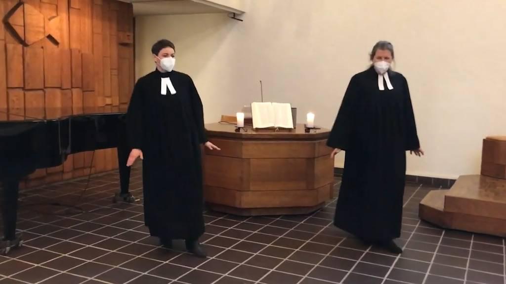 Der Jerusalema-Tanz hat es bis in die Kirche geschafft