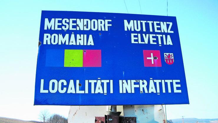 Die Patenschaft von Muttenz mit Meschendorf hält seit Jahrzehnten.