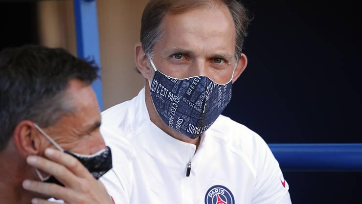 PSG-Trainer Thomas Tuchel mit gebotener Vorsicht