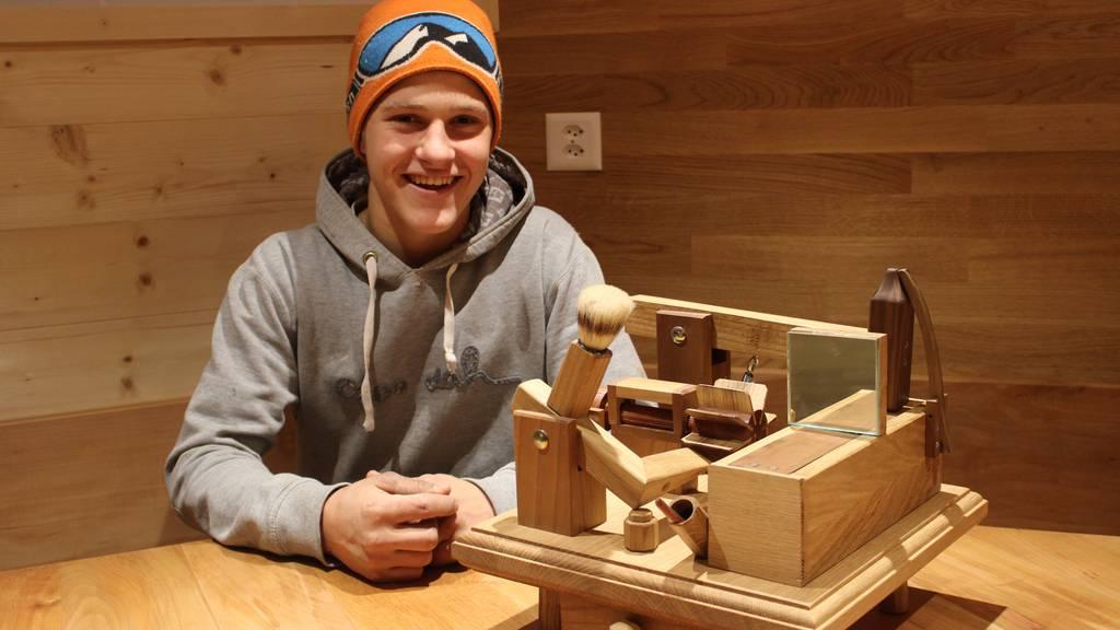 Dieser 17-Jährige macht seine eigenen Schnupfmaschinen