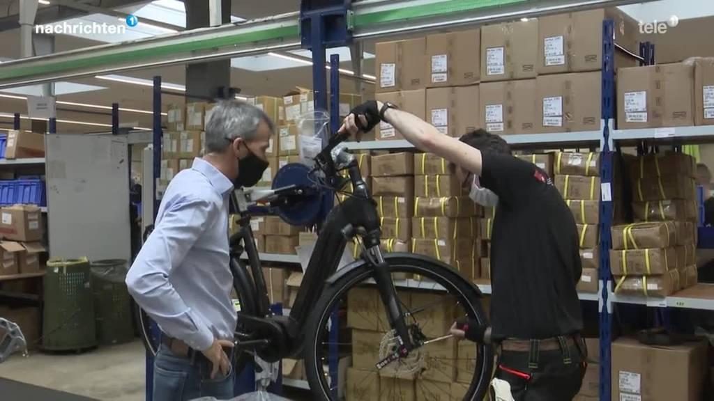 Hersteller von E-Bikes sind im Stress
