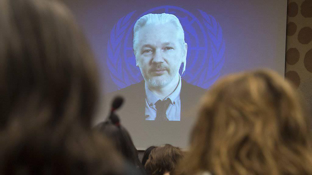 Wikileaks-Gründer Julian Assange soll in den kommenden Tagen befragt werden. (Archiv)