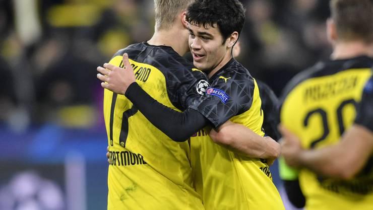Erling Haaland und Giovanni Reyna lassen Borussia Dortmund vom Coup gegen Paris Saint-Germain träumen