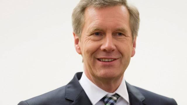 Der ehemalige deutsche Bundespräsident Christian Wulff vor Gericht