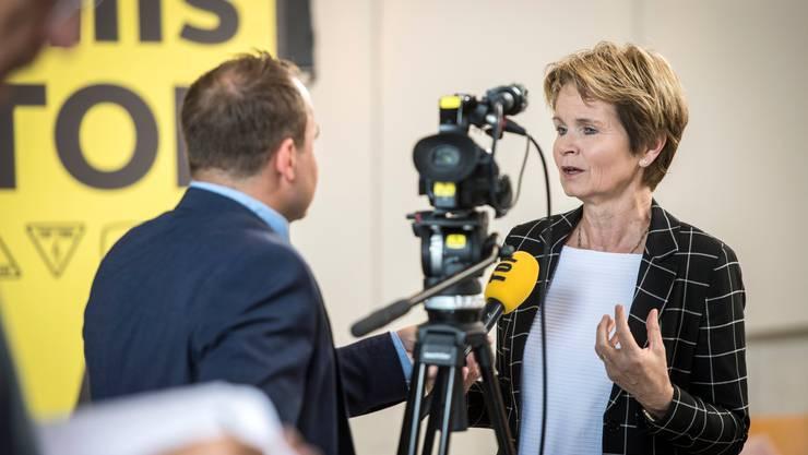 Hat viele Gründe gegen die «Wohnbau-Initiative» des Mieterverbands: Ständerätin Brigitte Häberli-Koller (CVP/TG) sagt am 9. Februar klar Nein.