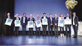 Grenchen, Oensingen, Olten, Solothurn, Zuchwil und neu die Region Thal wurden mit dem Label Energiestadt ausgezeichnet.